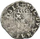 Photo numismatique  VENTE 7 juin 2017 - Coll Fr. Beau et divers BARONNIALES - POIDS de VILLE Principauté de VAUVILLERS Nicolas de Châtelet (vers 1525-1562) 534- Double denier, 1555.