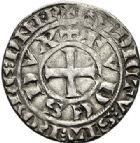 Photo numismatique  VENTE 7 juin 2017 - Coll Fr. Beau et divers BARONNIALES - POIDS de VILLE Duché de BOURGOGNE EUDES IV (1315-1349) 536- Maille blanche avec BG, après mars 1323.