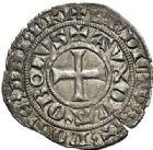 Photo numismatique  ARCHIVES VENTE 2017-7 juin - Coll Fr. Beau BARONNIALES - POIDS de VILLE Duché de BOURGOGNE EUDES IV (1315-1349) 537- Maille demie d'Auxonne, vers 1327-1330.