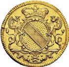 Photo numismatique  VENTE 7 juin 2017 - Coll Fr. Beau et divers MONNAIES DU MONDE ALLEMAGNE BADE, Charles-Guillaume (1709-1738) 538- Ducat d'or, 1737.