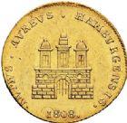 Photo numismatique  ARCHIVES VENTE 2017-7 juin - Coll Fr. Beau MONNAIES DU MONDE ALLEMAGNE HAMBOURG, Ville libre 540- Ducat, 1808.