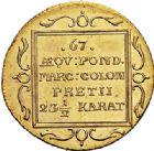 Photo numismatique  VENTE 7 juin 2017 - Coll Fr. Beau et divers MONNAIES DU MONDE ALLEMAGNE HAMBOURG, Ville libre 540- Ducat, 1808.