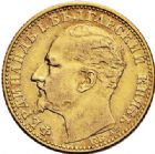 Photo numismatique  ARCHIVES VENTE 2017-7 juin - Coll Fr. Beau MONNAIES DU MONDE BULGARIE FERDINAND (1887-1918) 542- 10 leva, 1894.