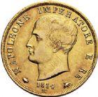 Photo numismatique  VENTE 7 juin 2017 - Coll Fr. Beau et divers MONNAIES DU MONDE ITALIE NAPOLEON Ier Roi d'Italie (1805-1814) 543- 40 lire or, Milan 1814.
