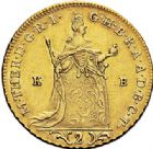 Photo numismatique  ARCHIVES VENTE 2017-7 juin - Coll Fr. Beau MONNAIES DU MONDE HONGRIE MARIE-THERESE (1740-1780) 545- 2 ducats, Kremnitz 1765.