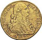 Photo numismatique  ARCHIVES VENTE 2017-7 juin - Coll Fr. Beau MONNAIES DU MONDE COLOMBIE FERDINAND VII (1808-1824) 547- 8 escudos, Santa-Fe de Bogota 1813.