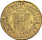 Photo numismatique  VENTE 7 juin 2017 - Coll Fr. Beau et divers MONNAIES DU MONDE COLOMBIE FERDINAND VII (1808-1824) 547- 8 escudos, Santa-Fe de Bogota 1813.