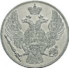 Photo numismatique  VENTE 7 juin 2017 - Coll Fr. Beau et divers MONNAIES DU MONDE RUSSIE NICOLAS Ier (1825-1855) 549- 12 roubles en platine, Saint-Pétersbourg, 1831.