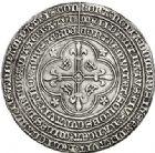 Photo numismatique  ARCHIVES VENTE 2017-7 juin - Coll Fr. Beau MÉDAILLES ARTISTIQUES CHARLES VII (30 octobre 1422-22 juillet 1461)  562- MÉDAILLE EN ARGENT (1453), commémorant l'expulsion des Anglais en 1451.