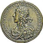 Photo numismatique  ARCHIVES VENTE 2017-7 juin - Coll Fr. Beau MÉDAILLES ARTISTIQUES LOUIS XIII (1610-1643)  565 Louis XIII, fonte signée Warin et datée 1630.