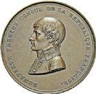 Photo numismatique  ARCHIVES VENTE 2017-7 juin - Coll Fr. Beau MÉDAILLES LE CONSULAT (1799-1804)  567- Bonaparte. Hommage de la Ville de Lille, 9 avril 1803.