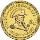 Photo numismatique  ARCHIVES VENTE 2017-7 juin - Coll Fr. Beau MÉDAILLES MEDAILLES EN OR MONNAIE DE PARIS  570- Bicentenaire de Napoléon, 1969.