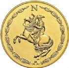 Photo numismatique  VENTE 7 juin 2017 - Coll Fr. Beau et divers MEDAILLES MEDAILLES EN OR MONNAIE DE PARIS  570- Bicentenaire de Napoléon, 1969.