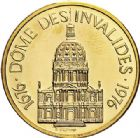 Photo numismatique  ARCHIVES VENTE 2017-7 juin - Coll Fr. Beau MÉDAILLES MEDAILLES EN OR MONNAIE DE PARIS Maréchaux d'Empire - Dôme des Invalide (1676-1976) 572- Napoléon Ier (1769-1821).