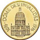 Photo numismatique  VENTE 7 juin 2017 - Coll Fr. Beau et divers MEDAILLES MEDAILLES EN OR MONNAIE DE PARIS Maréchaux d'Empire - Dôme des Invalide (1676-1976) 573- Maréchal Augereau (1757-1816).