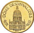 Photo numismatique  ARCHIVES VENTE 2017-7 juin - Coll Fr. Beau MÉDAILLES MEDAILLES EN OR MONNAIE DE PARIS Maréchaux d'Empire - Dôme des Invalide (1676-1976) 574 Maréchal Berthier (1753-1815).