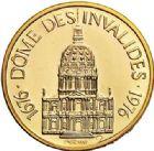 Photo numismatique  ARCHIVES VENTE 2017-7 juin - Coll Fr. Beau MÉDAILLES MEDAILLES EN OR MONNAIE DE PARIS Maréchaux d'Empire - Dôme des Invalide (1676-1976) 575 Maréchal Bessières (1768-1813).