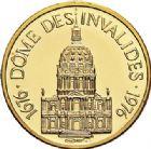 Photo numismatique  ARCHIVES VENTE 2017-7 juin - Coll Fr. Beau MÉDAILLES MEDAILLES EN OR MONNAIE DE PARIS Maréchaux d'Empire - Dôme des Invalide (1676-1976) 576- Maréchal Brune (1763-1815).