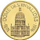 Photo numismatique  ARCHIVES VENTE 2017-7 juin - Coll Fr. Beau MÉDAILLES MEDAILLES EN OR MONNAIE DE PARIS Maréchaux d'Empire - Dôme des Invalide (1676-1976) 578- Maréchal Gouvion Saint-Cyr (1764-1830).