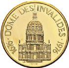 Photo numismatique  VENTE 7 juin 2017 - Coll Fr. Beau et divers MEDAILLES MEDAILLES EN OR MONNAIE DE PARIS Maréchaux d'Empire - Dôme des Invalide (1676-1976) 579- Maréchal Grouchy (1766-1847).