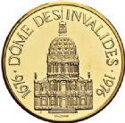 Photo numismatique  ARCHIVES VENTE 2017-7 juin - Coll Fr. Beau MÉDAILLES MEDAILLES EN OR MONNAIE DE PARIS Maréchaux d'Empire - Dôme des Invalide (1676-1976) 581-  Maréchal Kellermann (1735-1820).