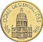 Photo numismatique  ARCHIVES VENTE 2017-7 juin - Coll Fr. Beau MÉDAILLES MEDAILLES EN OR MONNAIE DE PARIS Maréchaux d'Empire - Dôme des Invalide (1676-1976) 582-  Maréchal Lannes (1769-1809).