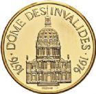 Photo numismatique  VENTE 7 juin 2017 - Coll Fr. Beau et divers MEDAILLES MEDAILLES EN OR MONNAIE DE PARIS Maréchaux d'Empire - Dôme des Invalide (1676-1976) 584-  Maréchal Macdonald (1765-1840).