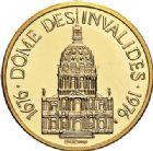Photo numismatique  ARCHIVES VENTE 2017-7 juin - Coll Fr. Beau MÉDAILLES MEDAILLES EN OR MONNAIE DE PARIS Maréchaux d'Empire - Dôme des Invalide (1676-1976) 586- Maréchal Masséna (1756-1817).