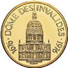 Photo numismatique  ARCHIVES VENTE 2017-7 juin - Coll Fr. Beau MÉDAILLES MEDAILLES EN OR MONNAIE DE PARIS Maréchaux d'Empire - Dôme des Invalide (1676-1976) 589-  Maréchal Murat (1767-1815).
