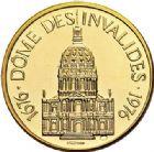 Photo numismatique  VENTE 7 juin 2017 - Coll Fr. Beau et divers MEDAILLES MEDAILLES EN OR MONNAIE DE PARIS Maréchaux d'Empire - Dôme des Invalide (1676-1976) 591-  Maréchal Oudinot (1767-1847).