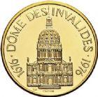 Photo numismatique  ARCHIVES VENTE 2017-7 juin - Coll Fr. Beau MÉDAILLES MEDAILLES EN OR MONNAIE DE PARIS Maréchaux d'Empire - Dôme des Invalide (1676-1976) 593  Maréchal Poniatowsky (1763-1813).