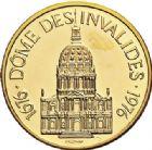 Photo numismatique  ARCHIVES VENTE 2017-7 juin - Coll Fr. Beau MÉDAILLES MEDAILLES EN OR MONNAIE DE PARIS Maréchaux d'Empire - Dôme des Invalide (1676-1976) 594-  Maréchal Serrurier (1742-1819).