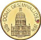 Photo numismatique  VENTE 7 juin 2017 - Coll Fr. Beau et divers MEDAILLES MEDAILLES EN OR MONNAIE DE PARIS Maréchaux d'Empire - Dôme des Invalide (1676-1976) 595-  Maréchal Soult (1769-1851).