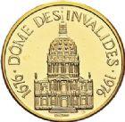 Photo numismatique  ARCHIVES VENTE 2017-7 juin - Coll Fr. Beau MÉDAILLES MEDAILLES EN OR MONNAIE DE PARIS Maréchaux d'Empire - Dôme des Invalide (1676-1976) 596- Maréchal Suchet (1770-1826).