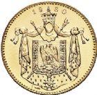Photo numismatique  VENTE 7 juin 2017 - Coll Fr. Beau et divers MEDAILLES MEDAILLES EN OR MONNAIE DE PARIS  599- NAPOLÉON Ier. Module de 20 francs or, 1980.