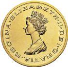 Photo numismatique  VENTE 7 juin 2017 - Coll Fr. Beau et divers MEDAILLES MEDAILLES EN OR MONNAIE DE PARIS  603- Elizabeth II Reine (depuis 1952)