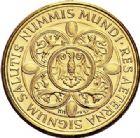 Photo numismatique  VENTE 7 juin 2017 - Coll Fr. Beau et divers MEDAILLES MEDAILLES EN OR MONNAIE DE PARIS  608- Néfertiti Reine d'Egypte (1353-1334 avant JC).