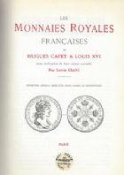 Photo numismatique  ARCHIVES VENTE 2017-7 juin - Coll Fr. Beau OUVRAGES NUMISMATIQUES   624- Ciani, monnaies royales.