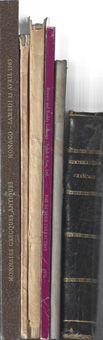 Photo numismatique  ARCHIVES VENTE 2017-7 juin - Coll Fr. Beau OUVRAGES NUMISMATIQUES   649 Lot de catalogues de vente R. Serrure, Et. Bourgey et divers (6).