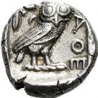 Photo numismatique  VENTE 7 juin 2017 - Coll Fr. Beau et divers DERNIERE MINUTE GRÈCE - ATTIQUE. ATHÈNES  658- Tétradrachme, (480-400).