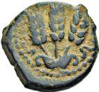 Photo numismatique  VENTE 7 juin 2017 - Coll Fr. Beau et divers DERNIERE MINUTE GRECE - JUDÉE. HÉRODE Ier (37-44)  661- Bronze.