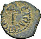 Photo numismatique  ARCHIVES VENTE 2017-7 juin - Coll Fr. Beau DERNIÈRE MINUTE GRECE - JUDÉE. HÉRODE Ier (37-44)  661- Bronze.
