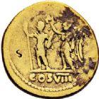Photo numismatique  VENTE 7 juin 2017 - Coll Fr. Beau et divers DERNIERE MINUTE EMPIRE ROMAIN - VESPASIEN (69-79)  664- Aureus, Rome, (77/78).