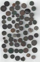 Photo numismatique  VENTE 7 juin 2017 - Coll Fr. Beau et divers DERNIERE MINUTE EMPIRE ROMAIN - Lot   667 Lot de 68 monnaies romaines et diverses du Ier au IVe siècle.