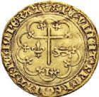Photo numismatique  VENTE 7 juin 2017 - Coll Fr. Beau et divers DERNIERE MINUTE France. HENRI VI, roi de France et d'Angleterre  (31 octobre 1422-19 octobre 1453).  668- Salut d'or de la 2ème émission (6 septembre 1423), Paris.