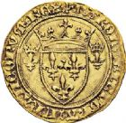 Photo numismatique  VENTE 7 juin 2017 - Coll Fr. Beau et divers DERNIERE MINUTE FRANCE - CHARLES VII (1422-1461)  669- Écu d'or à la couronne du 3ème type, 4ème émission (28 janvier 1436), Rouen.