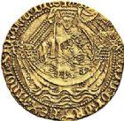 Photo numismatique  ARCHIVES VENTE 2017-7 juin - Coll Fr. Beau DERNIÈRE MINUTE ANGLETERRE - HENRI V roi d'Angleterre (1413-1422)  670- Noble d'or, Londres.