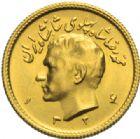 Photo numismatique  MONNAIES MONNAIES DU MONDE IRAN MOHAMMED REZA PAHLEVI (1942-1979) Demi pahlavi or, 1324 = 1945.