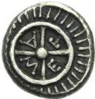 Photo numismatique  MONNAIES GRÈCE ANTIQUE Villes de THRACE Mésembrie (450-350) Diobole.