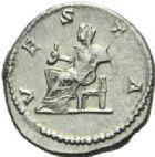 Photo numismatique  MONNAIES EMPIRE ROMAIN JULIA DOMNA (épouse de Septime Sévère)  Denier.